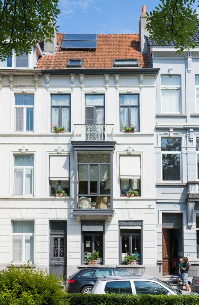 Baudelostraat 75. Foto Michel Vuijlsteke, juni 2016