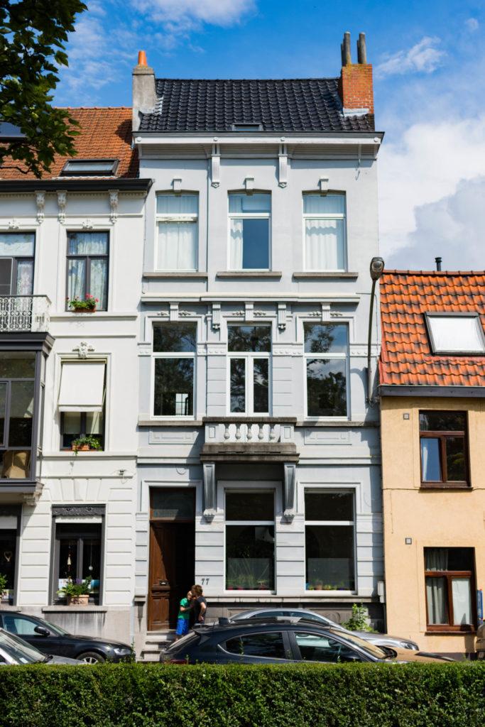 Baudelostraat 77. Foto Michel Vuijlsteke, juni 2016