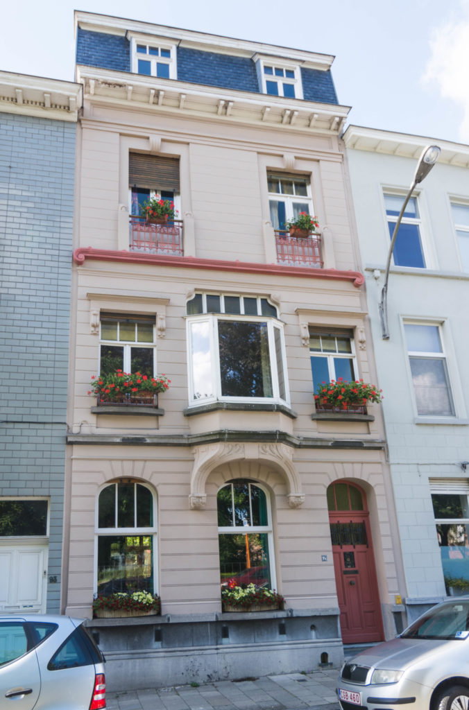 Baudelostraat 95. Foto Michel Vuijlsteke, juli 2016