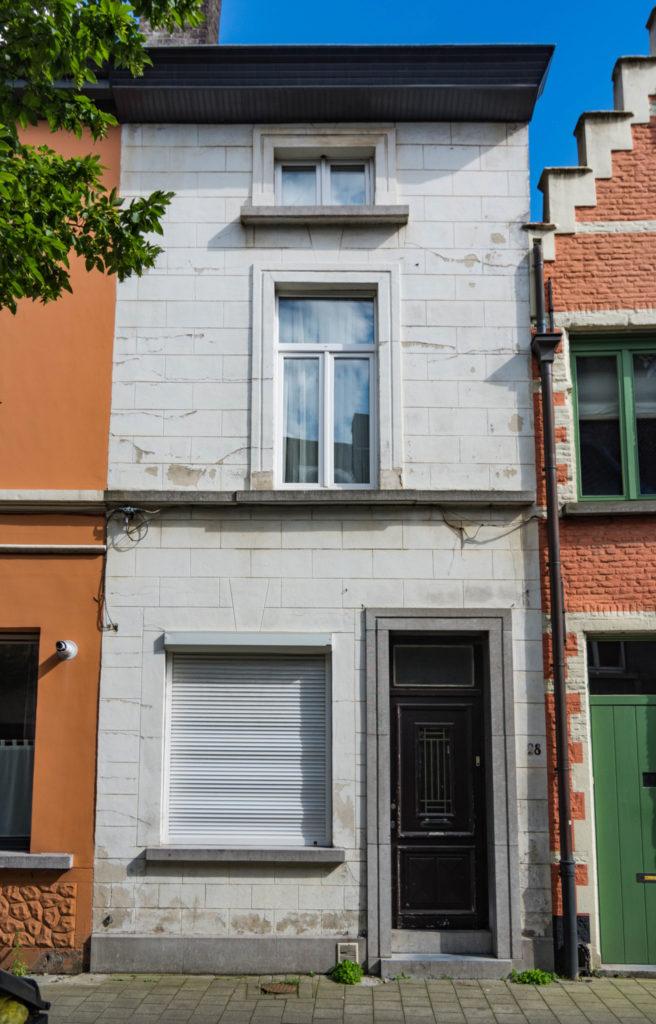 Gelukstraat 28. Foto Michel Vuijlsteke, juli 2016