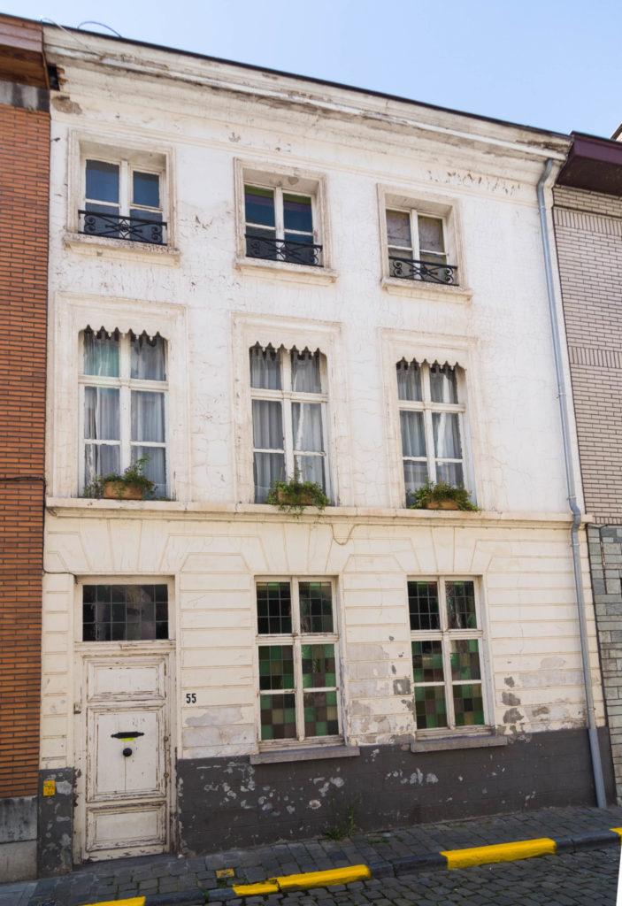 Baudelostraat 55. Foto Michel Vuijlsteke, juli 2016